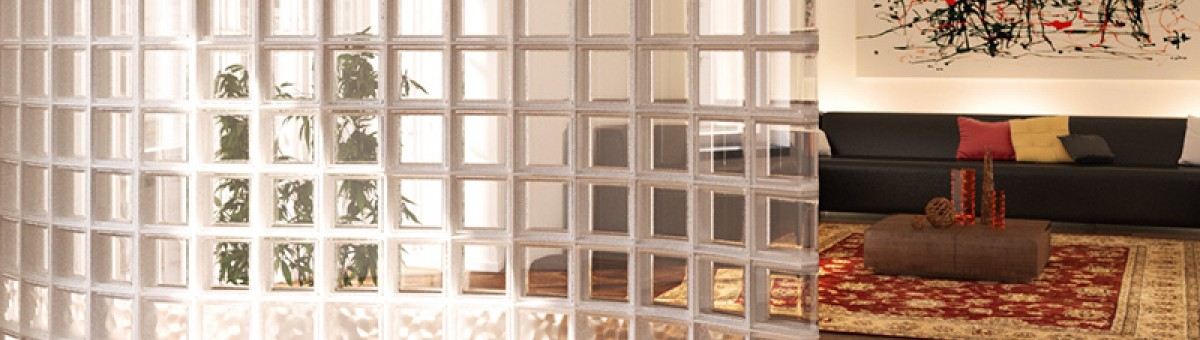Glass blocks by SEVES Group<br />